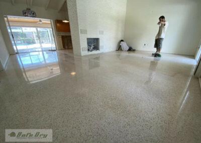 Residential Terrazzo Restoration & Refinishing Sarasota